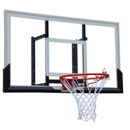 """Прозрачный щит для баскетбола 54"""" BOARD54A кольцо в комплекте, фото 1"""